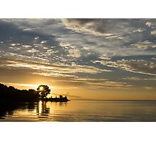 Sunny Golden Peace Photographic Print