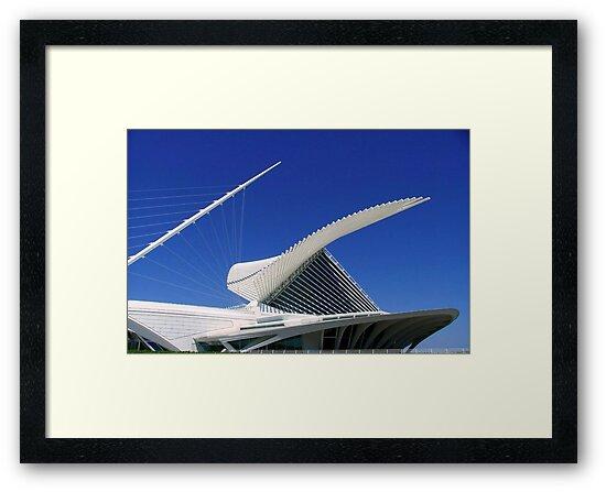 MAM...Milwaukee Art Museum ©  by Dawn M. Becker