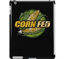 Corn Fed T Shirt, vintage, retro iPad Case/Skin