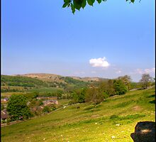 Settle, North Yorkshire. by Michael Upshon