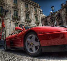Ferrari Testarossa by Andrea Rapisarda