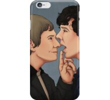 Shut up, Sherlock iPhone Case/Skin