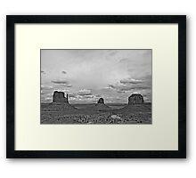 Monument Valley Navajo Tribal Park Framed Print