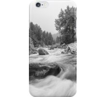 Fisherman's Panorama Colorado Canyon View BW iPhone Case/Skin