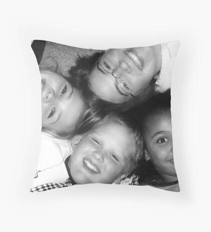 """Cousins"" Throw Pillow"