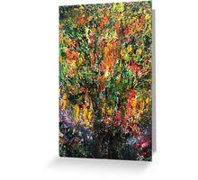 The Blossoming Tree Greeting Card