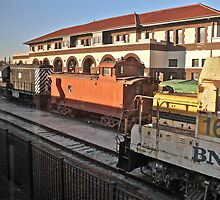 Departing Temple Texas Station  by Jack McCabe