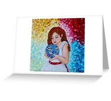 She's Not Alone Greeting Card