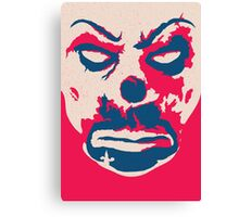 The Joker - bank mask Canvas Print
