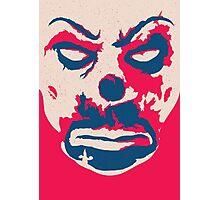 The Joker - bank mask Photographic Print