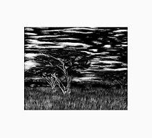 Kenya Landscape Etching Unisex T-Shirt