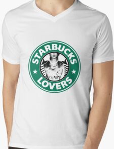 Starbucks Lovers Blank Space Taylor Swift Mens V-Neck T-Shirt