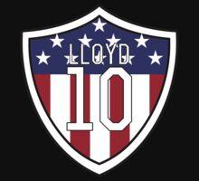 Carli Lloyd #10   USWNT One Piece - Long Sleeve