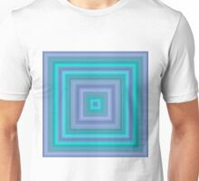 Green and Purple Squares Unisex T-Shirt