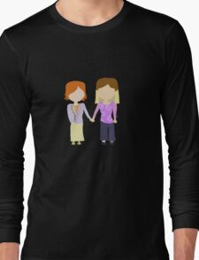 You're My Always - Willow & Tara Stylized Print Long Sleeve T-Shirt