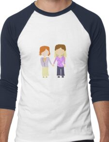 You're My Always - Willow & Tara Stylized Print Men's Baseball ¾ T-Shirt