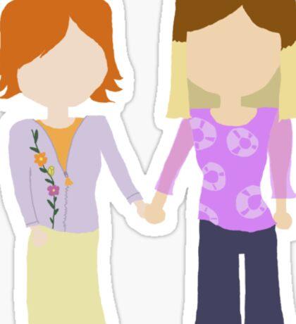You're My Always - Willow & Tara Stylized Print Sticker