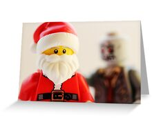 Are brains on your Christmas list? Greeting Card