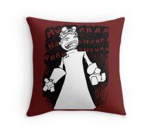 Doctor Horrible - Transparent Evil Laugh Throw Pillow