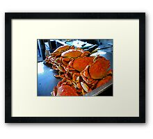 got crabs? Framed Print