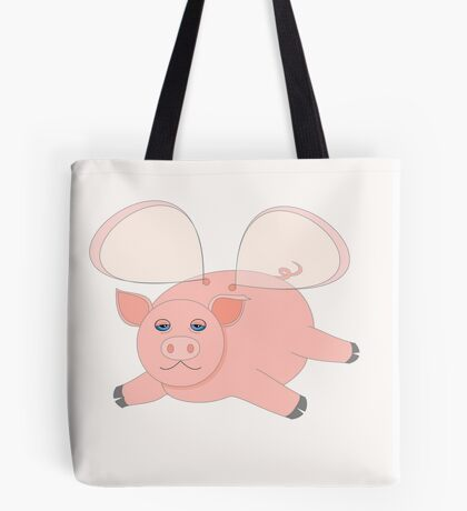 GLASSWINGED PIG Tote Bag