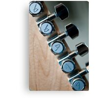 Fender Tuners Canvas Print
