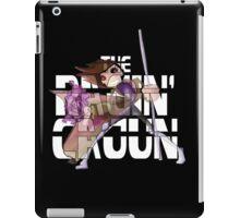 The Ragin' Cajun (Gambit; Black Background) iPad Case/Skin