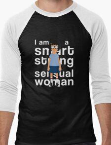 A Smart, Strong, Sensual Woman Men's Baseball ¾ T-Shirt