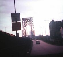 George Washington Bridge  From NY   To NJ    2004  by JNINA