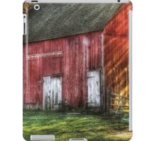 The old red barn iPad Case/Skin