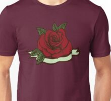 Tattoo Rose Unisex T-Shirt
