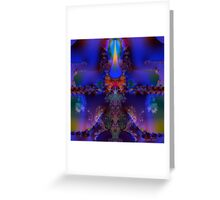 Purple Utopia Greeting Card