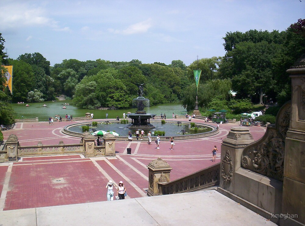 Bethesda Fountain, NYC by kmeghan