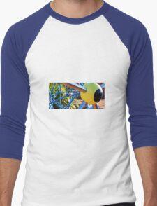 YELLOW EYEBALL Men's Baseball ¾ T-Shirt