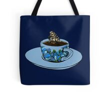 The Good Ship Coffee Cup Tote Bag