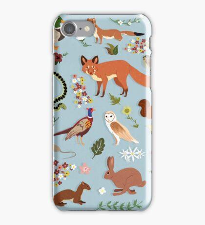 Wildlife of the United Kingdom iPhone Case/Skin