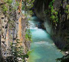 Johnston's Canyon River Hike by JillCM