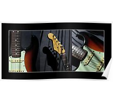 Guitar Icon : '62 Strat II Poster