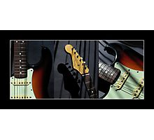 Guitar Icon : '62 Strat II Photographic Print