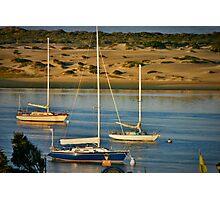 Boats on Morro Bay Photographic Print