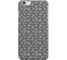 Minecraft Cobblestone iPhone Case/Skin