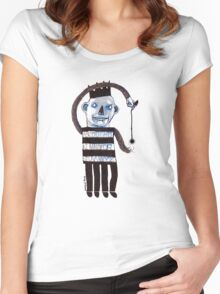 Marker Man Women's Fitted Scoop T-Shirt