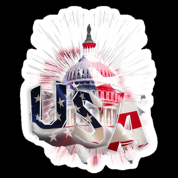 USA capitol by ALEX GRICHENKO