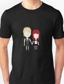 She's Rather Beautiful - Naomi and Emily Stylized Print T-Shirt