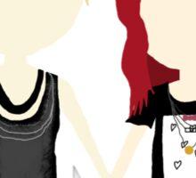 She's Rather Beautiful - Naomi and Emily Stylized Print Sticker