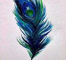 Peacock Feather by StaceySteph