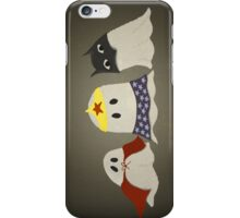 Ghost Superhero Cosplay iPhone Case/Skin