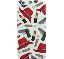Peggy Carter Pattern iPhone Case/Skin