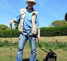 """One Man and his Dog"" by Merice  Ewart-Marshall - LFA"
