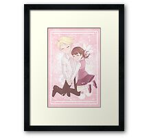 They Saved Each Other Framed Print